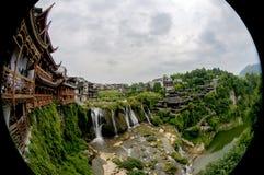 Den forntida staden av FuRong Arkivfoton