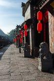Den forntida staden av FuRong Royaltyfri Bild