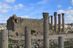 Den forntida staden av Jerash Royaltyfri Foto