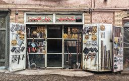 Den forntida staden av Kashgar, Kina