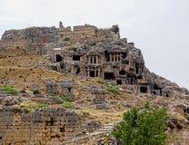 Den forntida staden av Tlos Arkivfoto