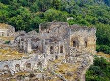 Den forntida staden av Tlos Royaltyfri Foto