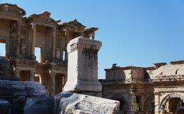 Den forntida staden av Turkiet, Ephesus Arkivbild