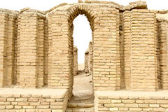 Den forntida staden av Ur Royaltyfri Bild