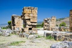 Den forntida staden fördärvar Arkivfoton