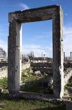 den forntida stadsphilippien fördärvar Arkivfoton