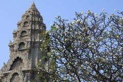 Den forntida templet Arkivfoto