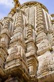 Den forntida templet av Jagdish i Udaipur, Indien, arkivbild
