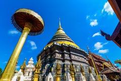 Den forntida templet i Lampang Arkivbild