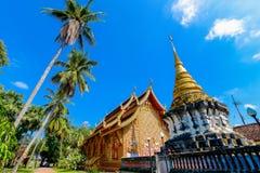 Den forntida templet i Lampang Arkivbilder