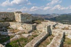 Den forntida Thracian staden av Perperikon, Bulgarien Fotografering för Bildbyråer