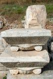 Den forntida väggen från Ephesus fördärvar Arkivbild