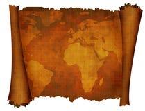 Den forntida världen kartlägger royaltyfri illustrationer