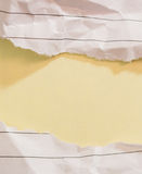 Den framgångbegreppet och idén skrynklade pappers- utrymme för text Royaltyfria Bilder