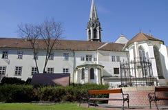 Den franciscan kloster, Bratislava, Slovakien Royaltyfria Foton