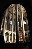 Den Franciscan kyrkan av Salzburg, Österrike royaltyfria foton