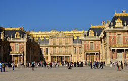 Den Frankrike Versailles slotten i Les Yvelines Royaltyfri Bild
