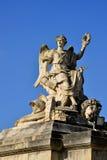Den Frankrike Versailles slotten i Les Yvelines Royaltyfri Foto