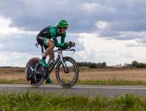 Den franska cyklisten Rolland Pierre Royaltyfria Foton