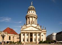 Den franska domkyrkan i Berlin royaltyfri foto