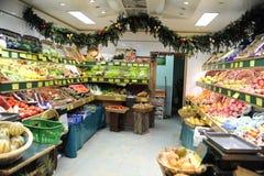 Den franska grönsaken shoppar i Paris Royaltyfri Fotografi
