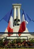 den franska minnesmärken kriger Fotografering för Bildbyråer