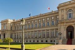 Den franska Utrikesdepartementet, Paris royaltyfri fotografi