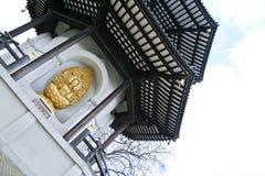 Den fredpagodbuddha batterseaen parkerar london Arkivfoton