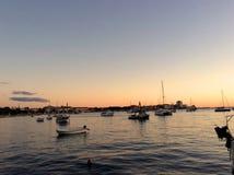 Den fridsamma hamnen Arkivfoto