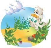 Den fula ducklingen Royaltyfri Foto