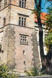 Den Furstenberg trädgården i den Prague slotten är störst av slottterrassträdgårdar Royaltyfri Fotografi