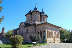 Den furstliga kyrkan av Targoviste, Dambovita län, Rumänien Royaltyfria Bilder