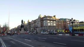 Den FX Buckley slaktaren shoppar i Dublin, stock video