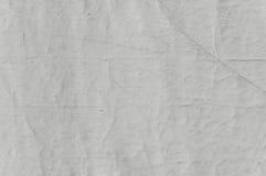 Den gamla abstrakta vita texturtapeten, mörk grunge texturerade väggcloseupen Royaltyfri Bild