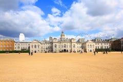 Den gamla Amiralitetet byggnaden i hästvakter ståtar i London En gång de fungerande högkvarteren av den kungliga marinen, det för Arkivfoton