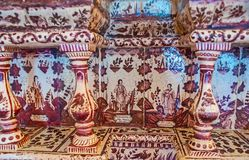 Den gamla belade med tegel ugnen i den Suzdal Kreml Royaltyfria Bilder