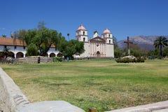 Den gamla beskickningen i Santa Barbara Royaltyfria Foton