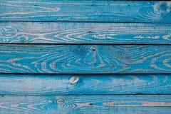 Den gamla blåa wood texturen med naturliga modeller Fotografering för Bildbyråer