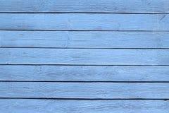 Den gamla blåa wood texturen med naturliga modeller royaltyfri foto
