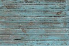 Den gamla blåa wood texturen med naturliga modeller arkivbilder