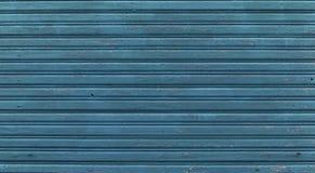 Den gamla blåa wood texturen med naturliga modeller arkivbild