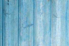 Den gamla bl?a wood texturen med naturliga modeller fotografering för bildbyråer