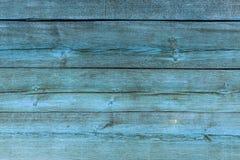 Den gamla bl?a wood texturen med naturliga modeller arkivfoton