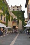 Den gamla byn av Garda Royaltyfria Foton