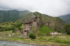 Den gamla byn fördärvar Fotografering för Bildbyråer