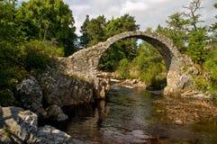 Den gamla Carr Bridge Royaltyfria Foton