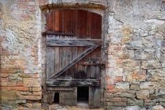 Den gamla dörren, fördärvar Arkivfoton