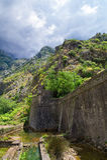 Den gamla fästningen av Kotor den medeltida staden Är en delUNESCOvärldsarv Fotografering för Bildbyråer