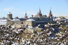 Den gamla fästningen i Ukraina Royaltyfri Foto
