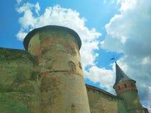 Den gamla f?stningen, Kamenets-Podolsky, Ukraina royaltyfri foto